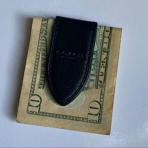 Coach Men's Leather Money Clip